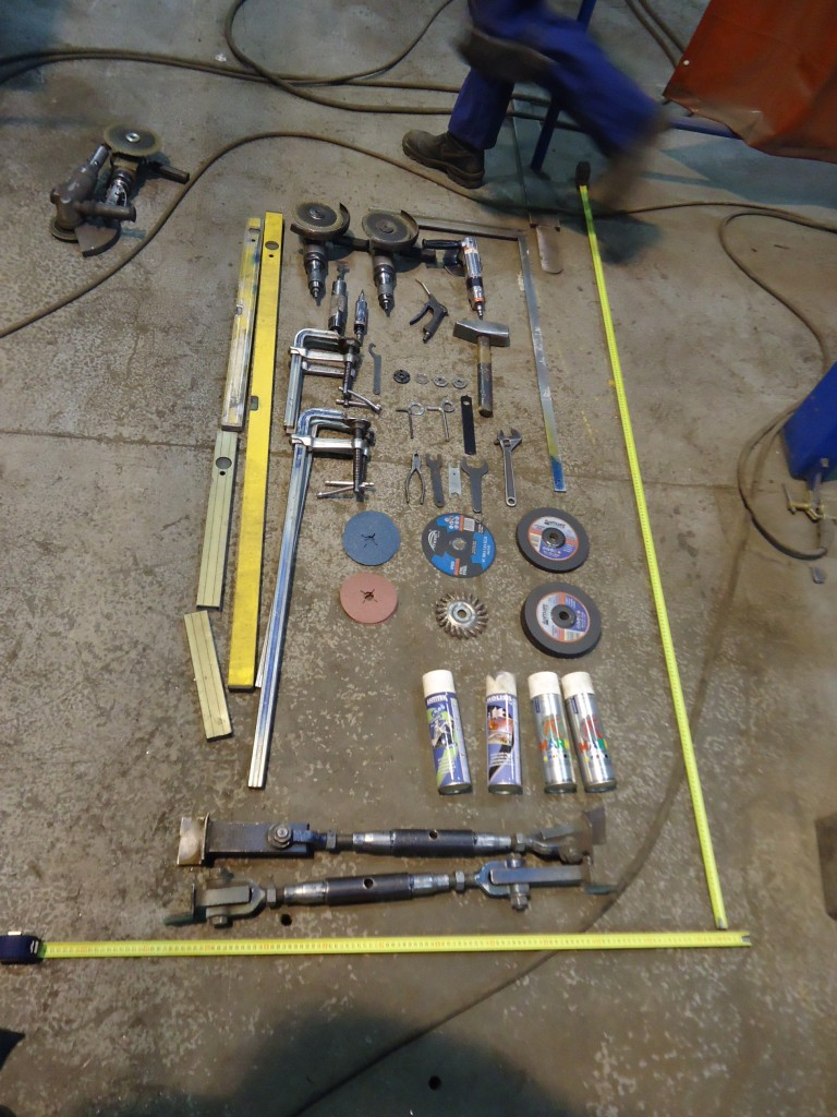 Tööriistastendi mõõdistamine ja väljatöötamine